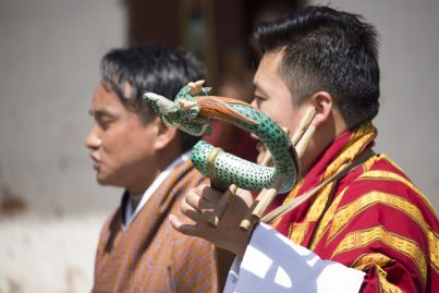 Bhutanese Music during festival